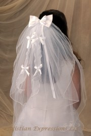 First Communion Veils-Vanessa