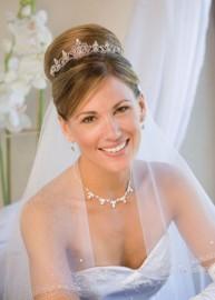 Amber Wedding Headpiece