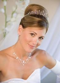 Mary Wedding Headpiece