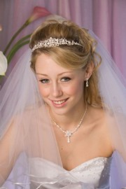 Melanie Wedding Headpiece