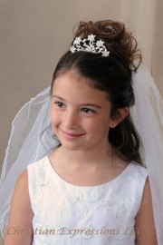 First Communion Veils-Mia