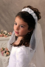 First Communion Veil-Carly