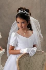 First Communion Veils-Trisha