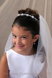 Kimberly First Communion Hairband