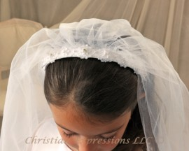 Alexandria First Communion Veil