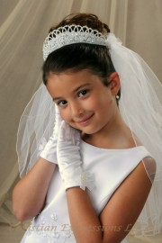 First Communion Veils-Tasha