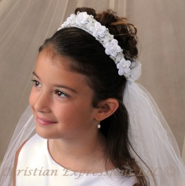 First Communion Veils-Lisa