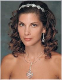 Carla Bridal Headband