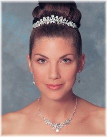 Megan Bridal Headpiece