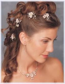 Janis Bridal Hairpins
