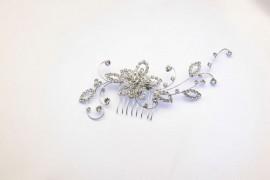 Large Flower Wedding Hairpiece