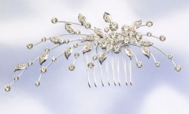 Leaves Spray Wedding Hairpiece