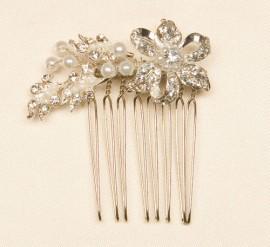 Pearl Flower Wedding Hairpiece