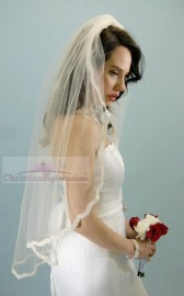 Cathedral Length with Scallop Lace Edge Bridal Veil