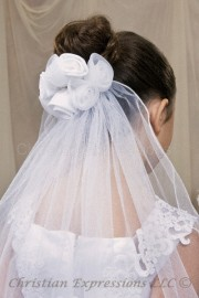 First Communion Veils-Alicia
