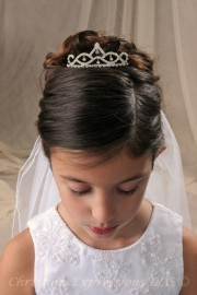 First Communion Tiaras-Brittney