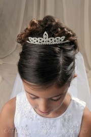 First Communion Tiaras-Felicia