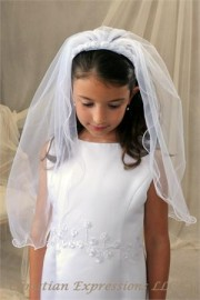 First Communion Veils-Amy