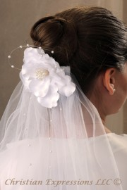 First Communion Veils-Gloria