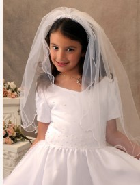 First Communion Veils-Erika