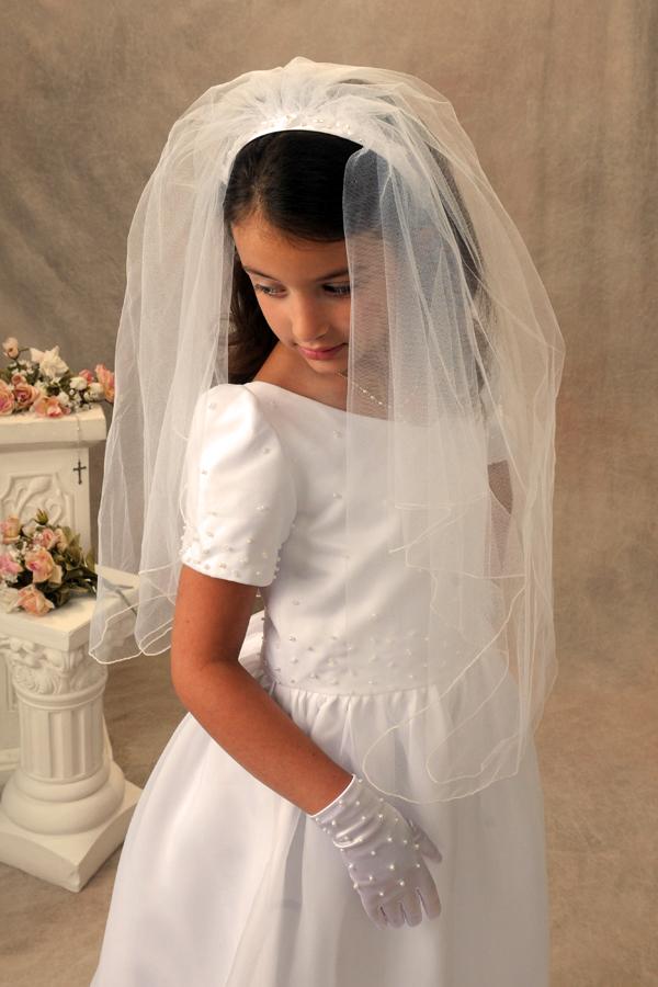 First Communion Veils Tracy Bridal Wedding Veils First