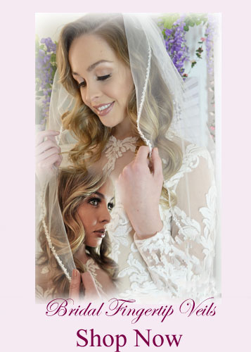 Shop Fingertip Length Bridal Veils for Sale