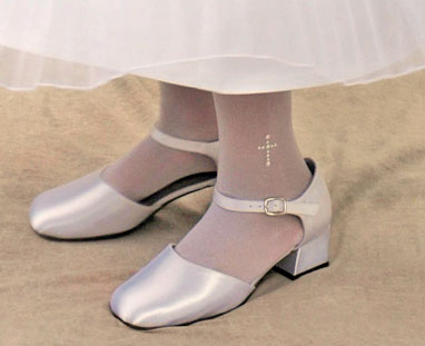First Communion Tights With Pearl Cross Bridal Wedding